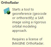 ERDAS – OrthoRADAR Orthorectifying Tutorial