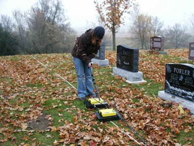 Signature of GPR at Cemeteries (UW)